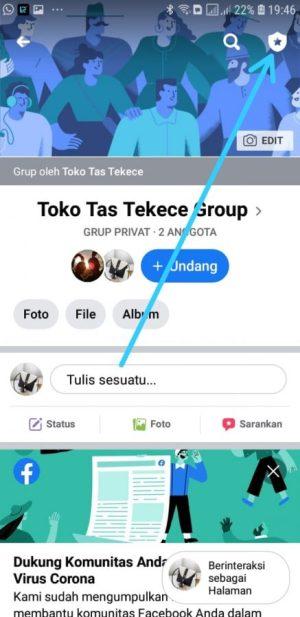 Masuk ke dalam Group