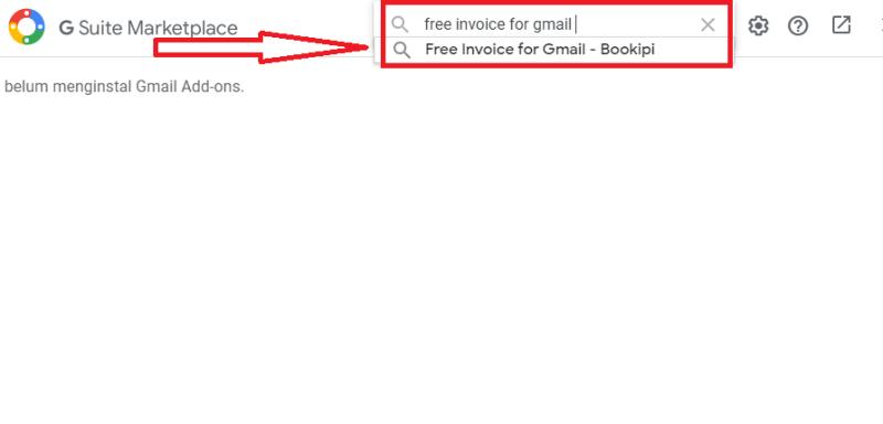 ketikkan free invoice for gmail