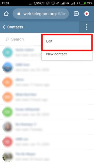"""klik """"edit"""""""