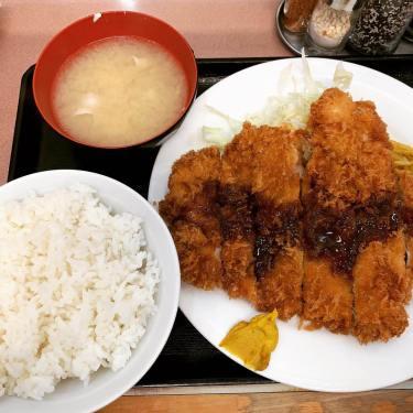 【池袋】ランチハウスミトヤのジャンボチキンカツ定食を食べてきた