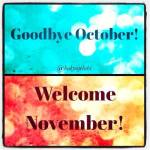 November: Let's Start Afresh!