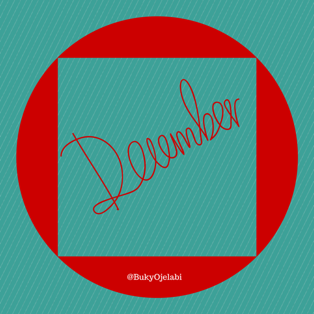 December: Happy New Month