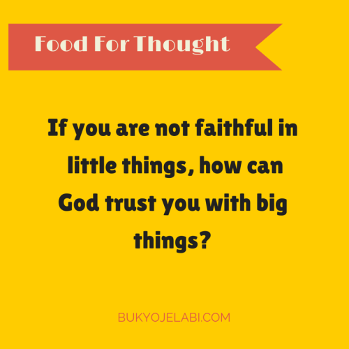 How Can God Trust You With More?