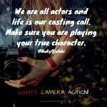 We Are All Actors