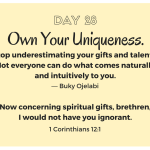 Own Your Uniqueness