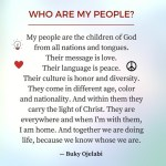 Who Are My People?