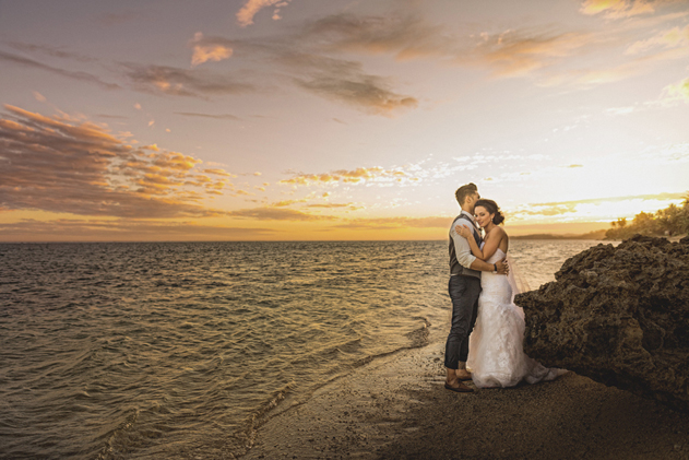 Joe & Melissa — Outrigger Fiji Wedding