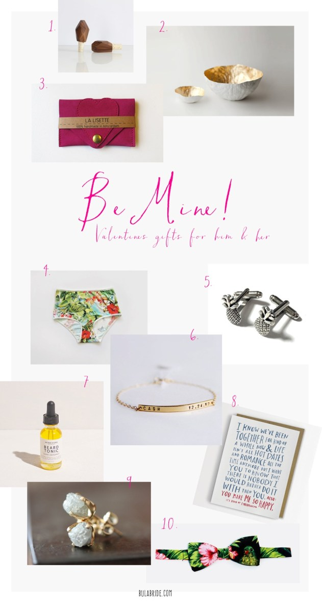 Bula Bride Fiji Wedding Blog // Valentines Gift Ideas
