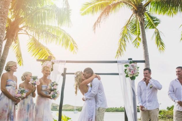 Bula Bride Fiji Wedding Blog // Brad & Jessie – Musket Cove Fiji Wedding. Captured by Kendell Tyne Photography