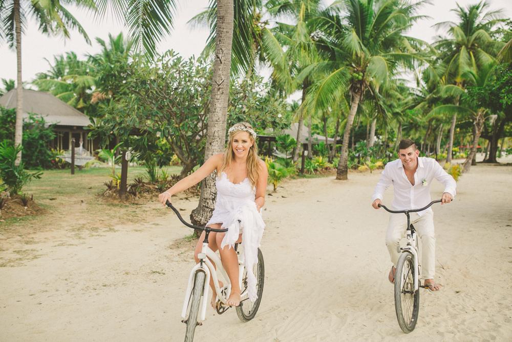 Brad & Jessie — Musket Cove Fiji Wedding