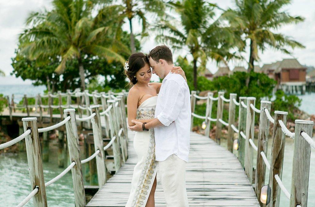 Tim & Sondra — Likuliku Lagoon Resort