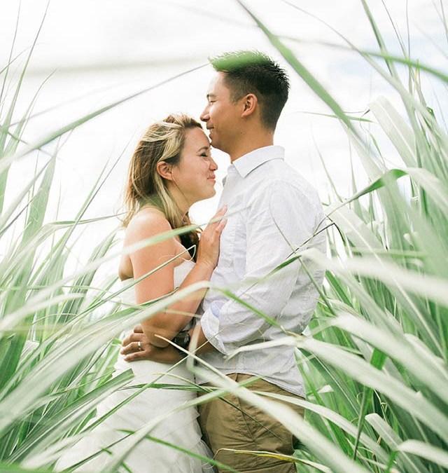 Andrew & Phuong – Underwater Wedding Portrait Session