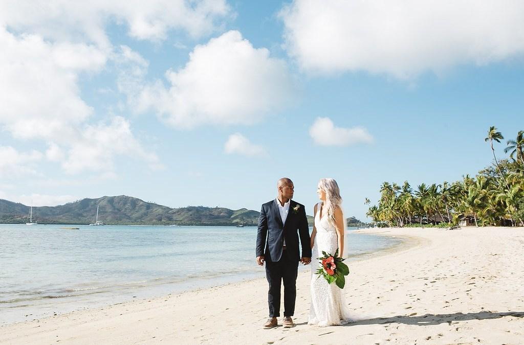 Chris & Tiffany — Plantation Island Fiji Wedding