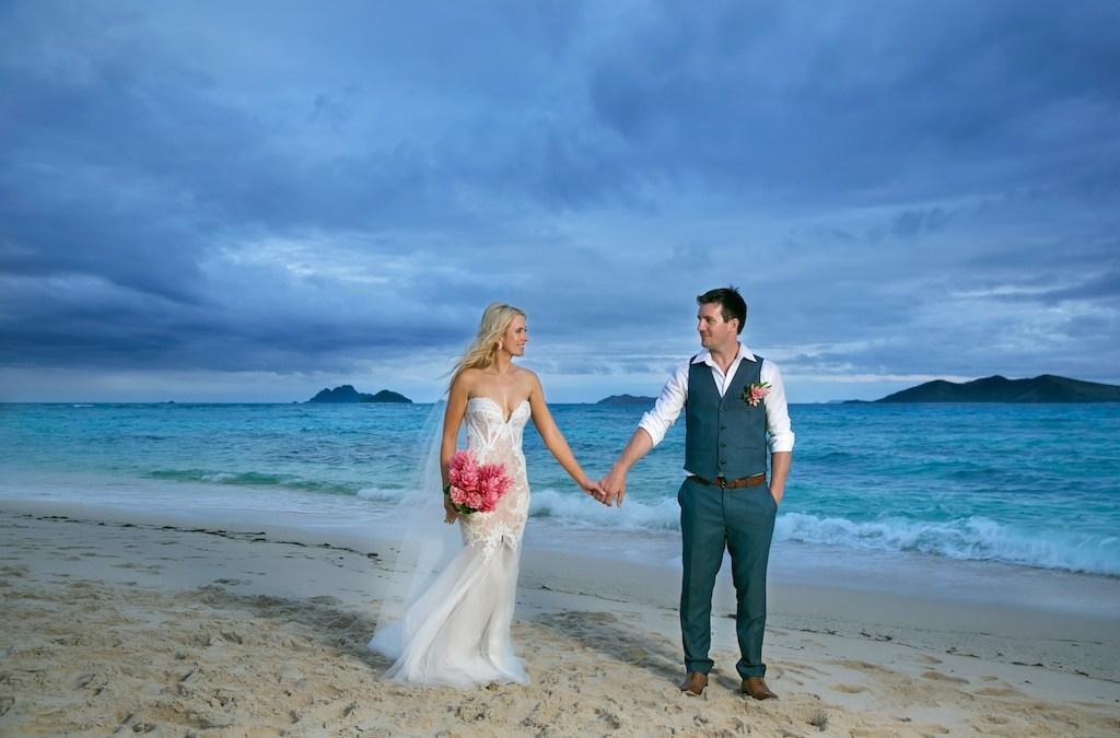 James & Ella —Mana Island Fiji Wedding