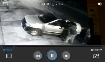 फुटेज में दिख रहा है कि चोर 12:48 पर मऊखेड़ा फाटक की ओर से सेंट्रो कार में आए। जिसमें से एक ने उतरकर हॉस्पिटल की तरफ देखा।