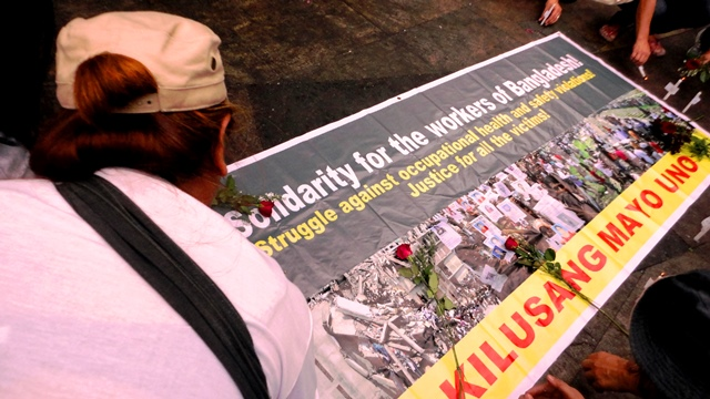 Solidarity for Bangladesh workers 2