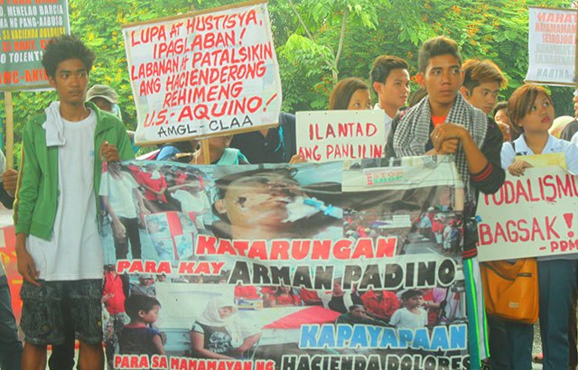 Farmers march for genuine agrarian reform, not CARPer