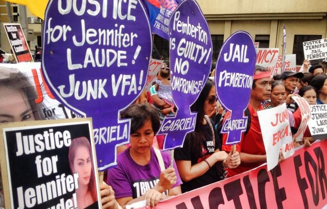 Under the shadow of VFA | 'US, Aquino gov't barring justice for Laude' – solon