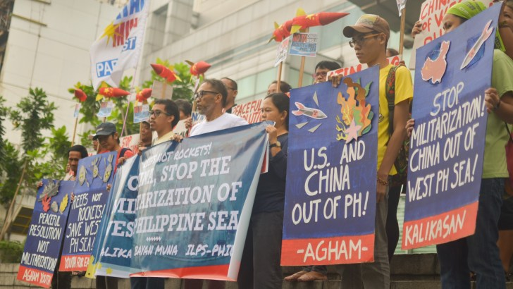 Progressives slam 'policy of national sellout' as Palace ignores Chinese takeover of PH reef