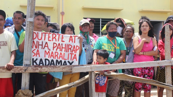 Kadamay:  Futile dialogues with gov't led to #OccupyBulacan