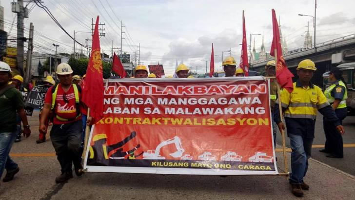 Mindanao workers at #SONA2017 | 'Duterte fortifies rather than ends contractualization'