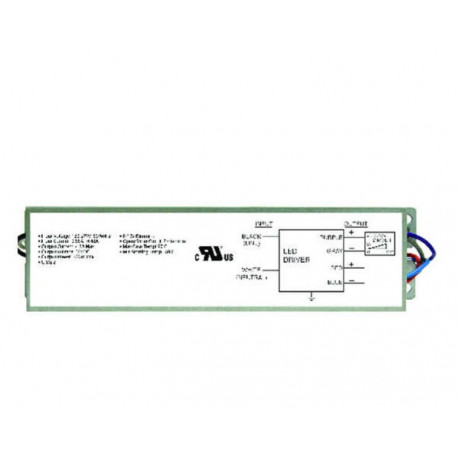 DiodeLED DI-DV-24V60W-277 LED driver 60 watt, 277 to 24