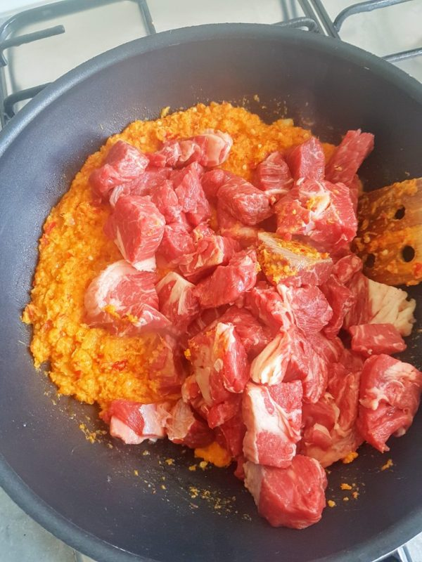 Meat and bumbu