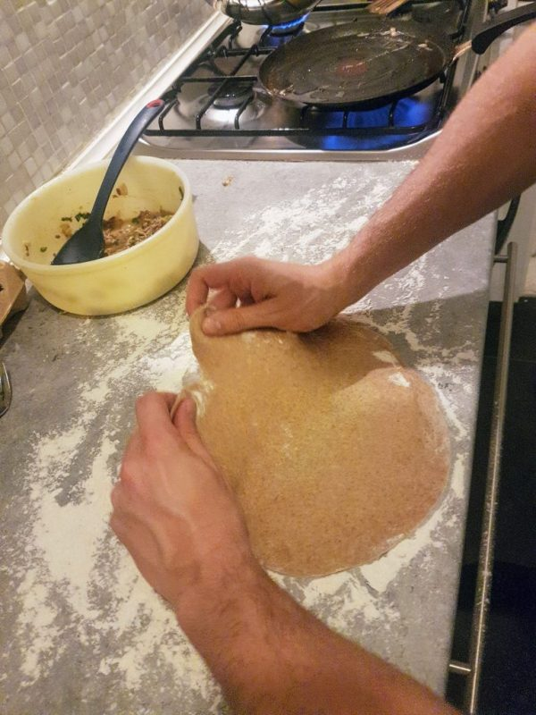 spanked dough