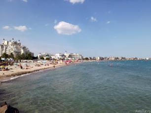 Поморие - Южный пляж