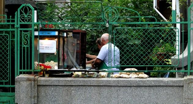 Popcorn-kioski Aleko Bogoridii, Burgas