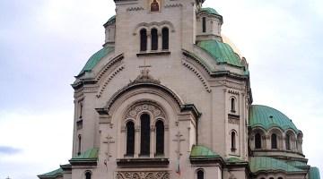 Aleksander Nevski-katedraali Sofia Bulgaria