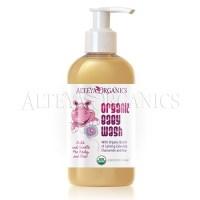 Organic Baby Wash Mild and Gentle 250 ml  Bulgarian Rose Otto