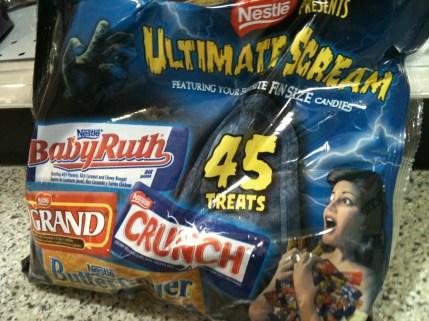 Ultimate Scream Candy Bag