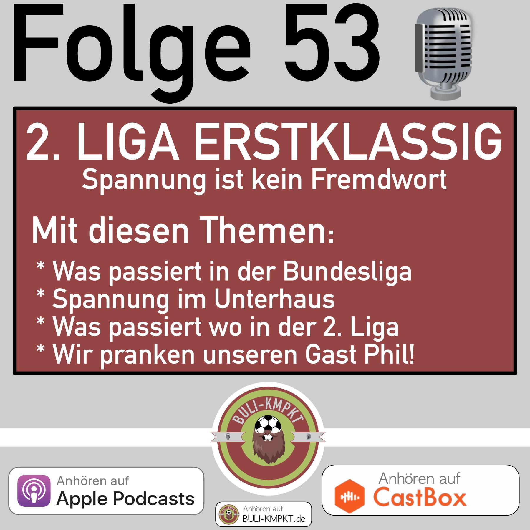 Folge 53 – 2. Liga Erstklassig