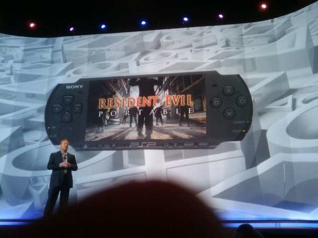 E3 09 Sony announces Resident Evil for PSP and PSP Go