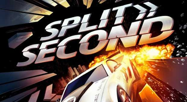 SplitSecond Box Art Features A Car Explosions