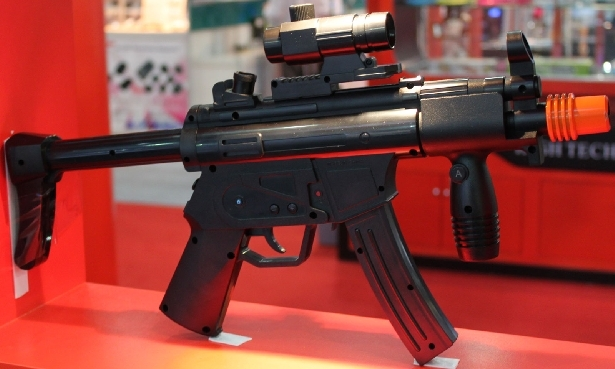 Never Enough The MP5 Sub Machine Gun Wii Controller