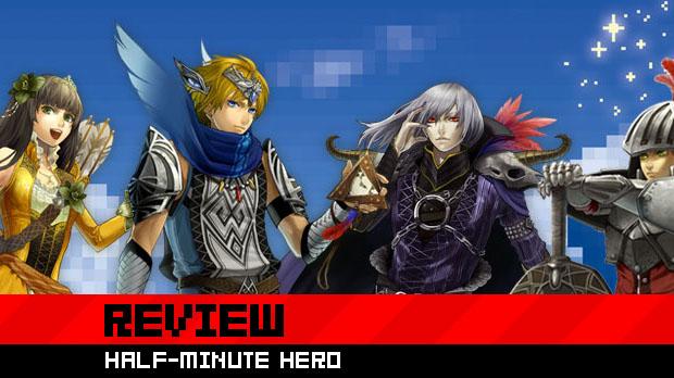 Review Half Minute Hero