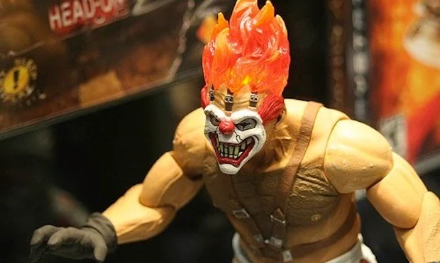 Twisted Metal Sweet Tooth Figurine Looks Radical