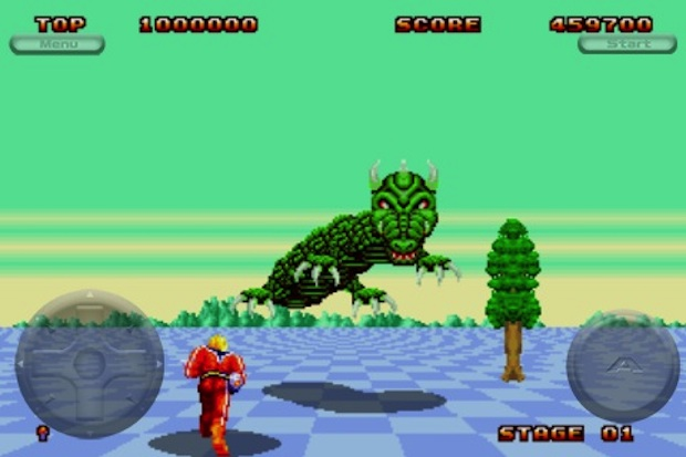 Sega Genesis On Your IPhone Space Harrier II Ecco