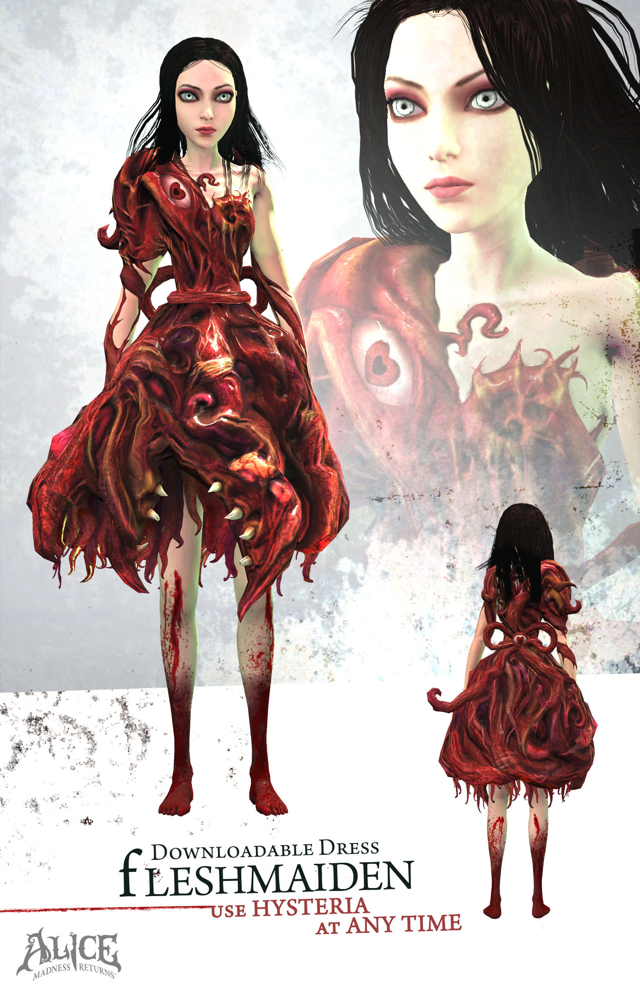 Pretty Dresses For Alice Madness Returns Launch DLC