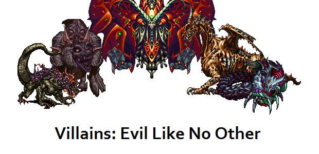 Villains Evil Like No Other