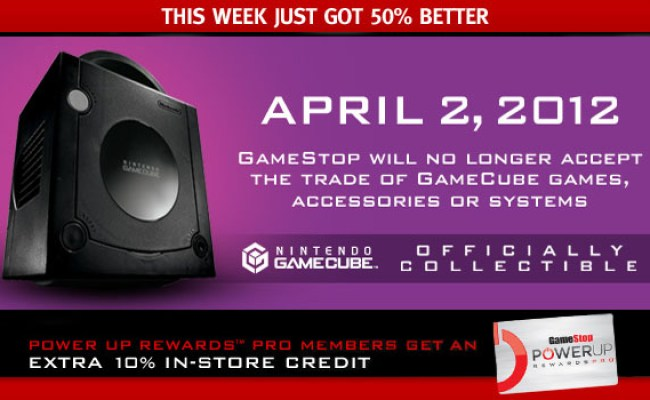 Gamestop No Longer Wants Your Gamecube Trade Ins