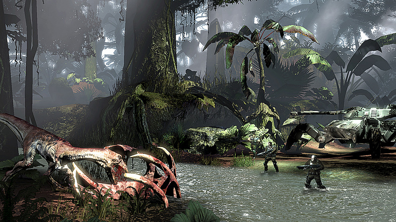 RAWR New Turok Xbox 360 Screens