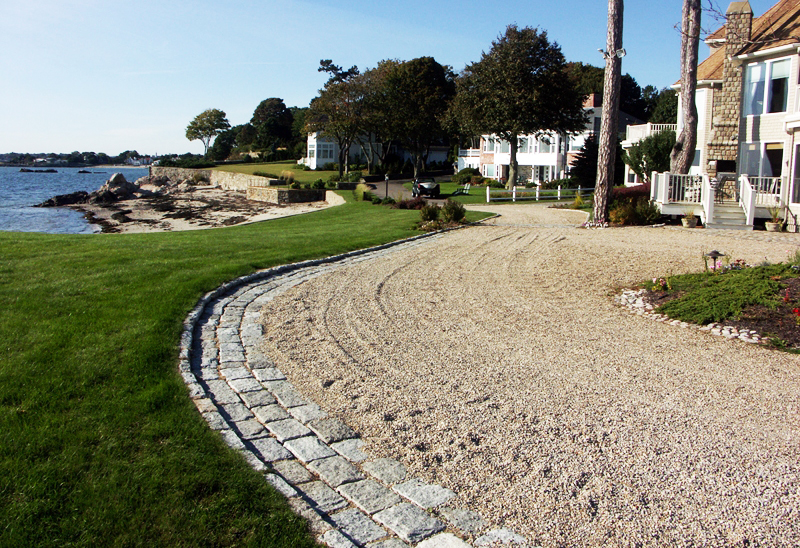 Driveways bulk crushed oyster shells for Crushed oyster shells for landscaping
