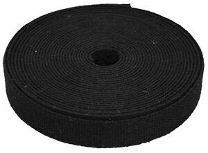 Bulk Wholesale Black Hemp Webbing 1.5 inch