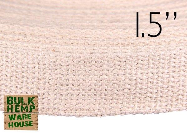 Romanian Hemp Webbing - 1.5 inch | Bulk Hemp Warehouse