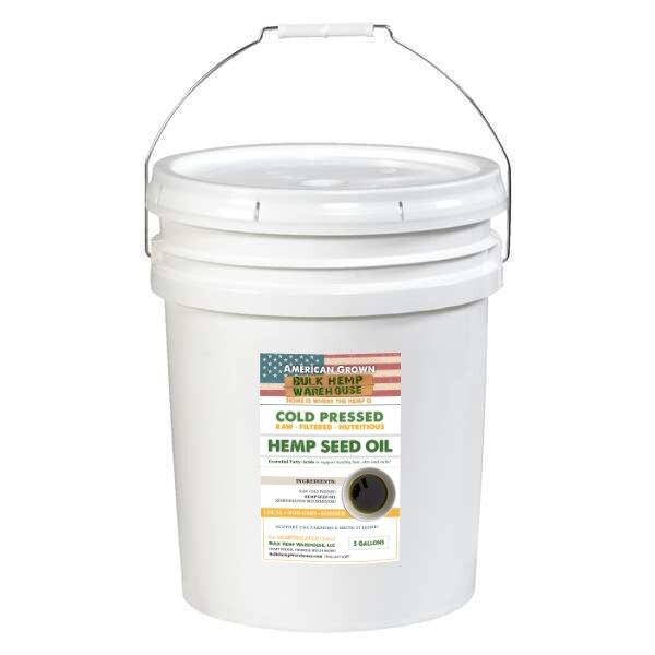USA Hemp Seed Oil - 5 Gallon Bucket