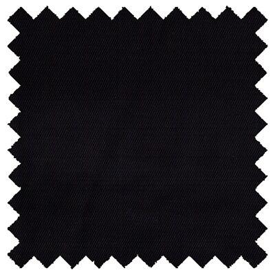Black Hemp Organic Cotton Twill Fabric 10.5 - Per Yard