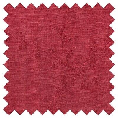 Hemp Silk Fabric Cinnaberry Red 5oz Per Yard